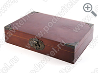 The acoustic ultrasonic safe SPY-box Casket-3 GSM-P - in closed form